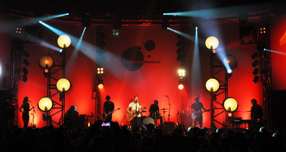 James Morrison 2013 - Lighting design, Martin's Lights, Reading.