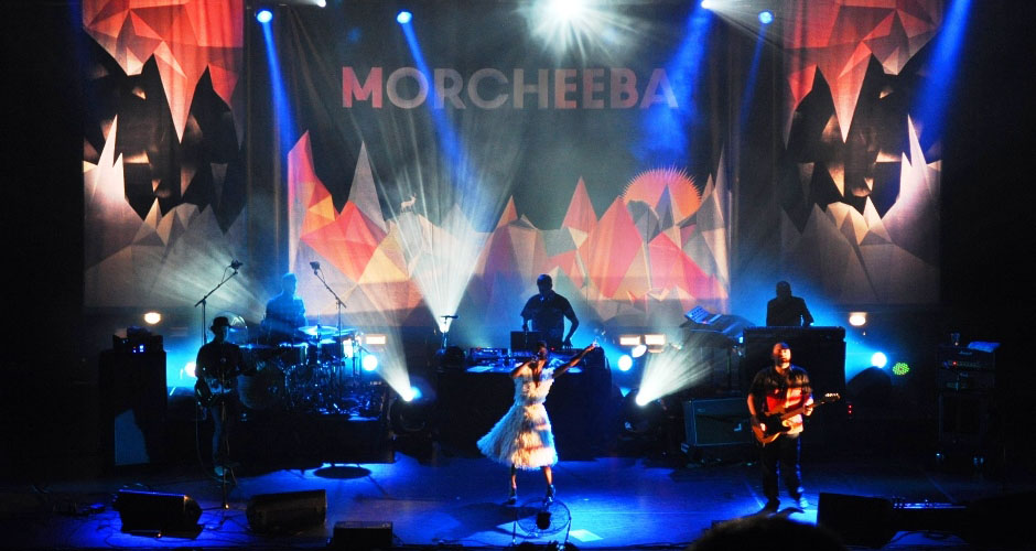 Morcheeba 2013 - Lighting design, Martin's Lights, Reading