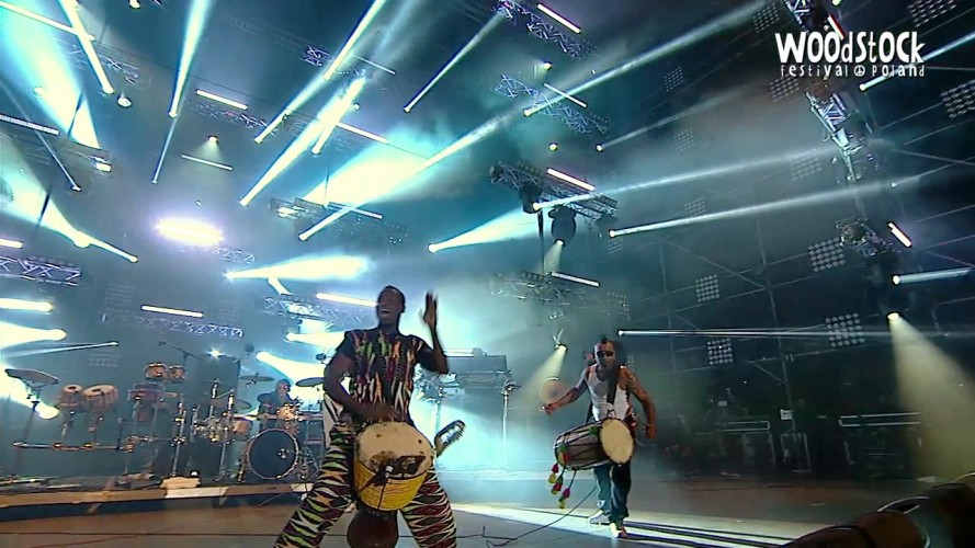Afro Celt Sound System, Woodstock festival, Poland, July 2015