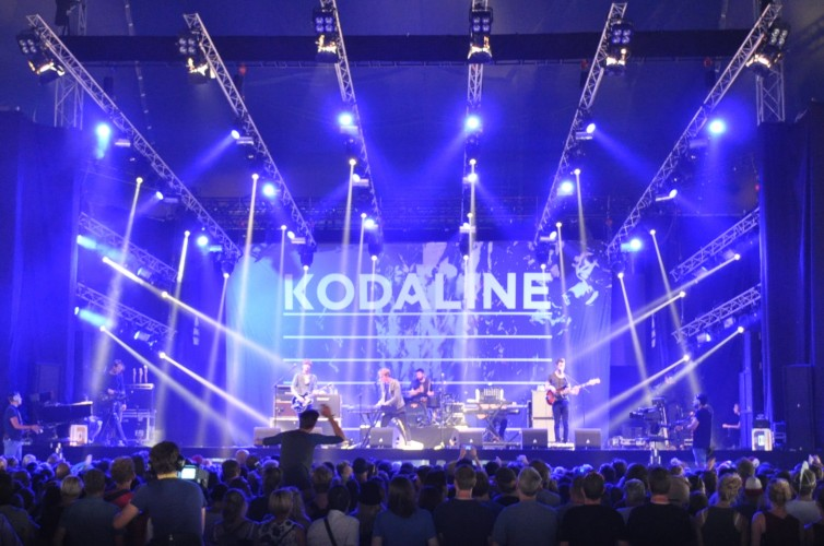 Kodaline, Lowlands Festival, Netherlands, August 2015